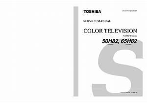 Toshiba 50h82 65h82 Sm Service Manual Download  Schematics