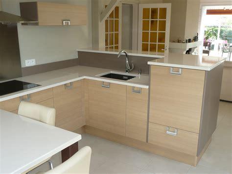 meuble de cuisine avec plan de travail plan de travail cuisine chene fabulous cuisine plan de