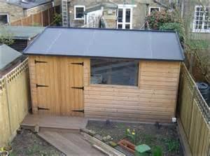 DIY Flat Roof Shed Plan