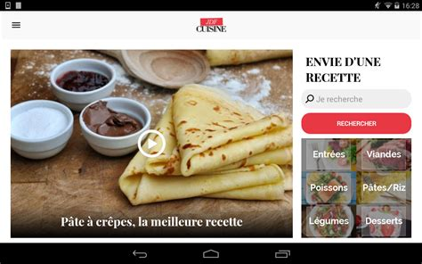 application recette cuisine cuisine 45 000 recettes android apps on play