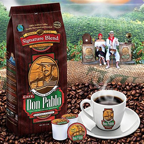 Blended for taste, each of these coffees, colombia, guatemala, and brazil, have distinct body characters making. 2LB Cafe Don Pablo Signature Blend Coffee - Whole Bean ...
