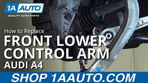 How To Replace Front Lower Forward Control Arm 02