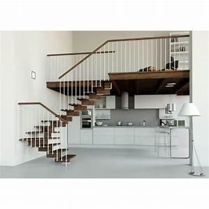 Escalier 3 4 Tournant : escalier 1 4 tournant limon central achat vente ~ Dailycaller-alerts.com Idées de Décoration