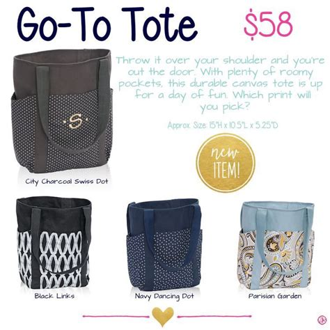 Loving This New Go To Tote From Thirty One Shop Online At