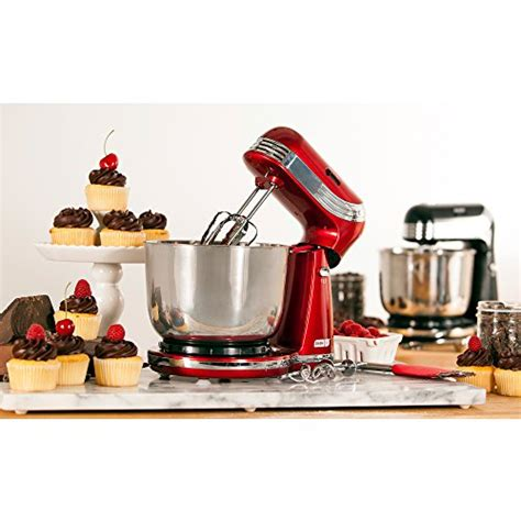 Coffee beans are never heated during the brewing process, so you'll enjoy your coffee's natural flavor without added bitterness. Dash GO Everyday Mixer, Red | Appliances Store