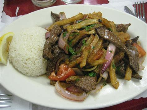 peruvian cuisine peruvian food on