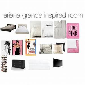 ariana grande inspired room - Polyvore