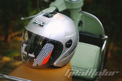 review rsv helmet super color helm stylish  tawarkan