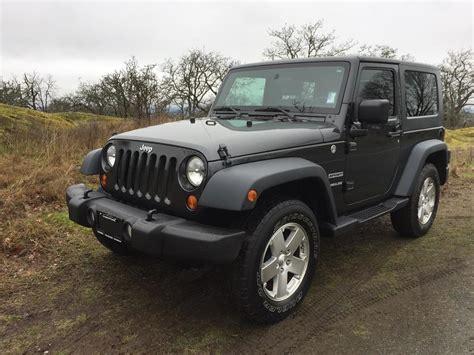 jeep wrangler sport trail rated   sale local vehicle victoria city victoria