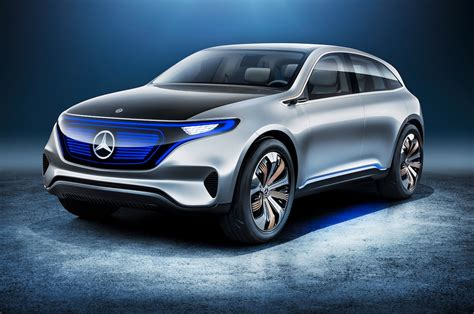 Mercedes BenzCar : Mercedes Benz Generation Eq Electric Car Front Three