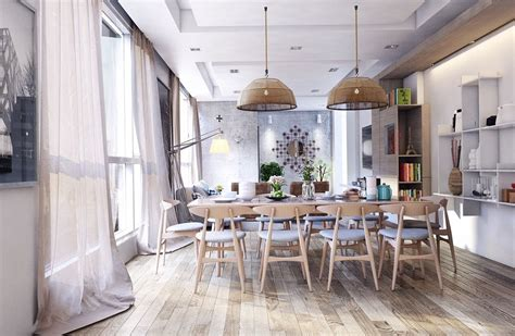 Even with rustic finishes and handmade furnishings, you can incorporate modern elements for a contemporary and rustic design.the result is a dining room that feels simultaneously cozy and current. 49 Fresh Captivating Rustic Dining Room Designs Ideas | Dining room design, Modern kitchen ...