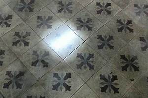 remise en etat du carrelage en carreaux ciment sur aix With nettoyage carreaux de ciment