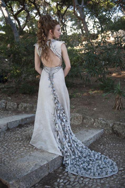 natalie m wedding dresses natalie dormer purple wedding gown the gossip