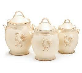 Country Canisters For Kitchen Rooster Provence Ceramic Country Kitchen Canister Set Food Canisters