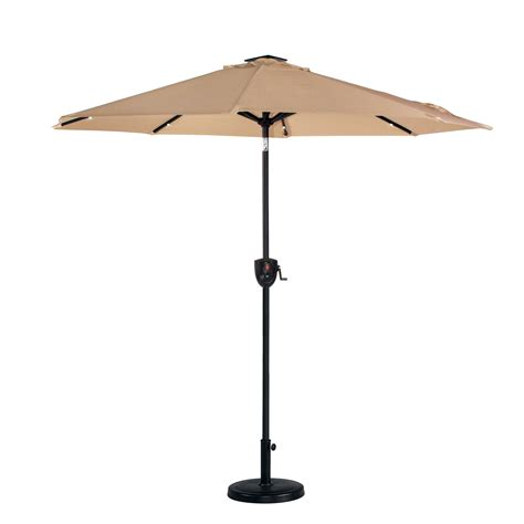 garden oasis 7 umbrella with bluetooth and lights