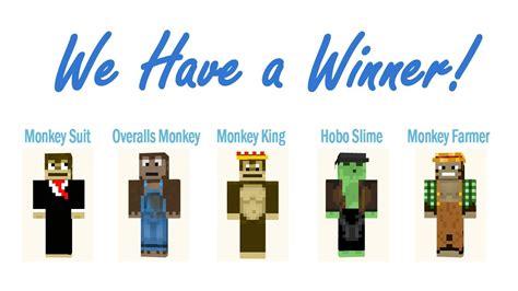 minecraft skin contest finale    winner youtube