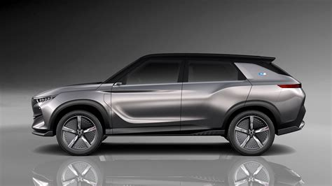 Ssangyong E Siv Concept Car Body Design