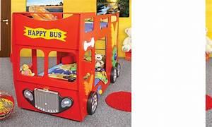 Lit Avec Sommier Et Matelas Inclus : lit superpose bus jaune rouge ou bleu autobus avec sommiers et matelas inclus ~ Teatrodelosmanantiales.com Idées de Décoration
