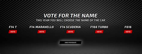 Other the years, ferrari has been responsible for a long line of fast, powerful, and evocative sports which is why business insider compiled a list of the 10 most important ferrari's in company history. Voting Open to Name 2014 Scuderia Ferrari Formula One Car - GTspirit