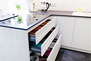 Küche Weiß Hochglanz : organisation in der k che schubkasteneins tze schubladeneinlagen ~ Sanjose-hotels-ca.com Haus und Dekorationen