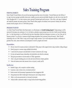 Landscaping Proposal Letter Basic Sales Training Program Example