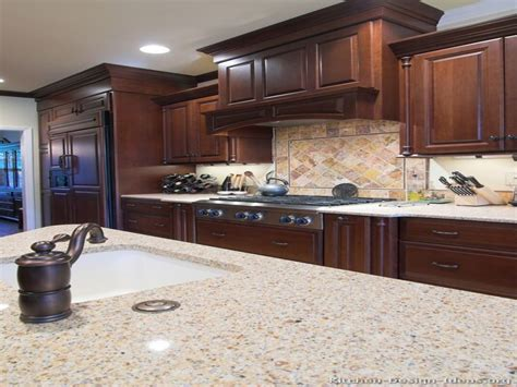 dark oak kitchen cabinets cherry wood cabinets dark cherry kitchen cabinets ideas