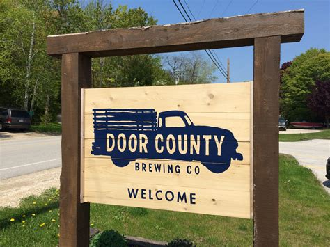 door county brewery get d in door county s baileys harbor