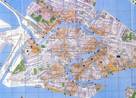 venice italy tourist map venice italy mappery