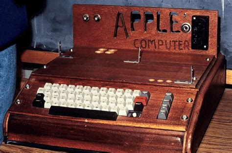 apple 1 registry