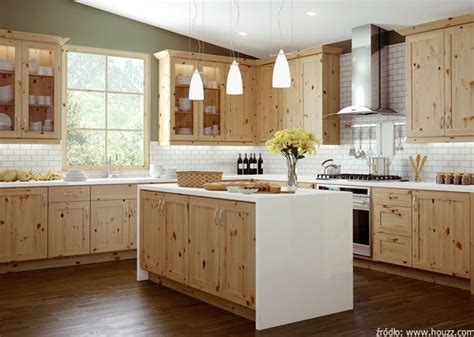 unfinished pine kitchen cabinets meble kuchenne sosnowe z drewna sosnowego nowoczesne 8749