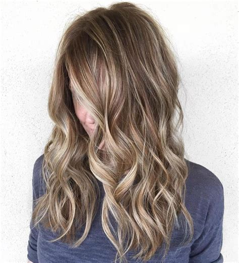light brown with blonde highlights light brunette hair colors for 2018 best hair color