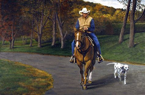 happy trails painting by rick fitzsimons