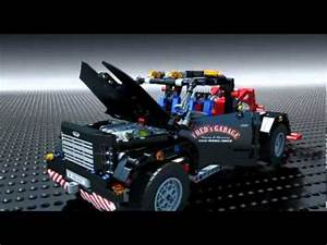 Lego Technic Pick Up : lego technic 9395 pick up tow truck lego 3d review ~ Jslefanu.com Haus und Dekorationen