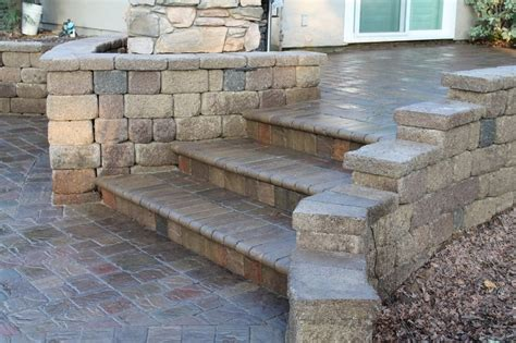 lr landscaping paver patio steps and retaining walls yelp