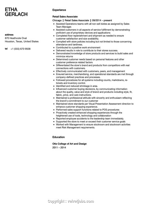 Resume For Shoe Sales Associate by Top Sales Associate Resume Exles Sales Associate Resume