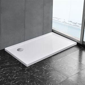 Bac De Douche : maison bac de douche blanc pur receveur de douche extra ~ Edinachiropracticcenter.com Idées de Décoration