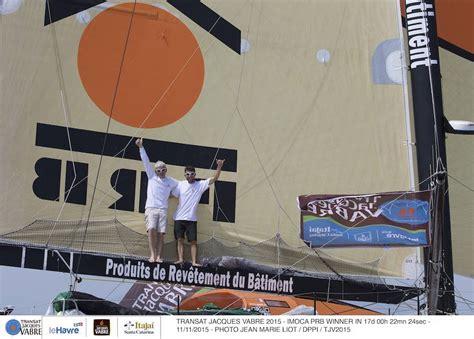 transat jacques vabre 2015 ganadores en multi50 e imoca60