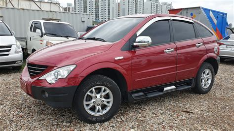 SSANGYONG ACTYON 2008y-KOREAN USED CAR FOR SALE | Corea ...