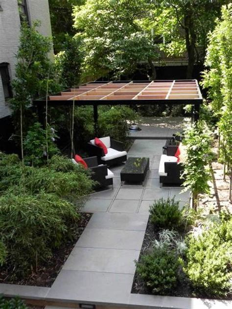 Before & After  Don Statham's Small Urban Space Retreat