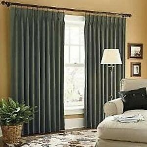 pinch pleat thermal drapes jcp linden pinch pleat thermal twill curtains pr ebay