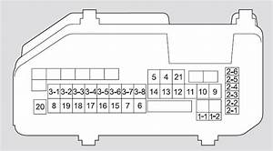2004 Acura Tsx Fuse Box Diagram
