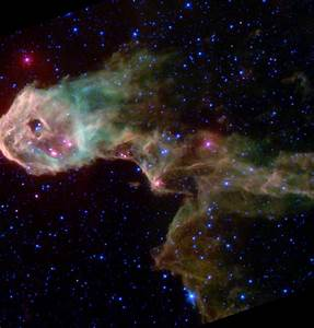 Space Images   Multi-Wavelength Views of Protostars in IC 1396