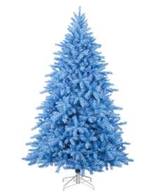 pics for gt white tree with blue lights
