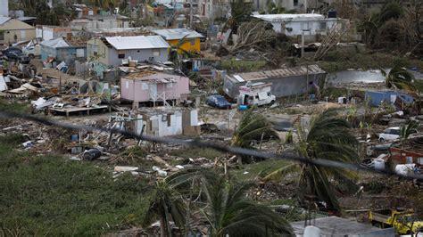 el huracan maria desenterro cientos de cadaveres en puerto