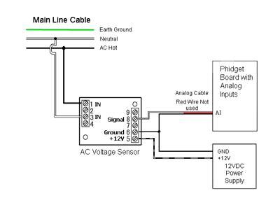 ce vj03 32ms2 0 5 ac voltage sensor 0 250v 50hz 3507 0 at phidgets