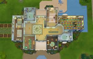 Simple Sims Mansion Floor Plans Ideas by Stepford Mansion Sims