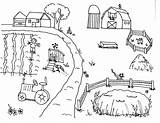 Farmer Coloring Pages Print sketch template