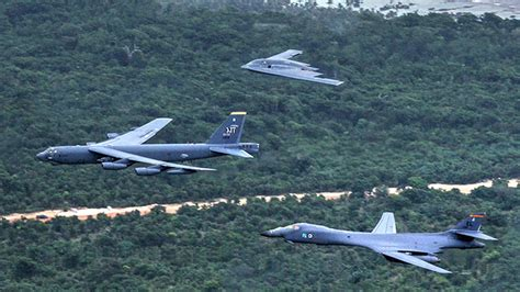 Us Air Force's Budget Will Retire The B-1 And B-2