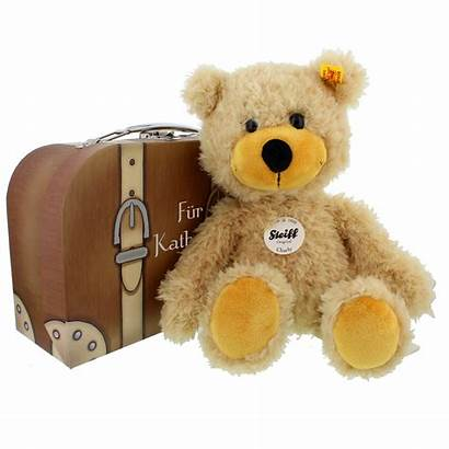 Steiff Peluche Teddy Charly Koffer Ours Valise