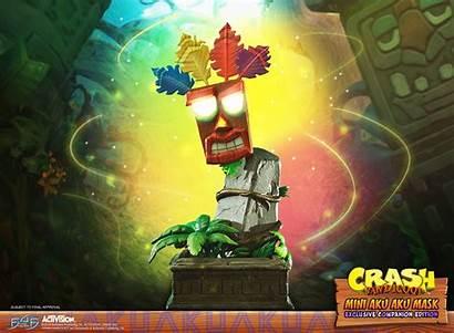Aku Crash Bandicoot Mask Mini Companion Exclusive